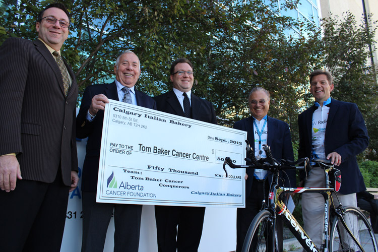 Tom Baker Cancer Centre Donation